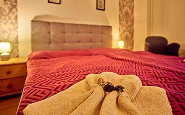 Interiér apartmánu v Hotel Smrečina