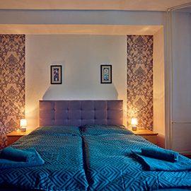 Interier dvojlozkovej izby Hotel Smrečina